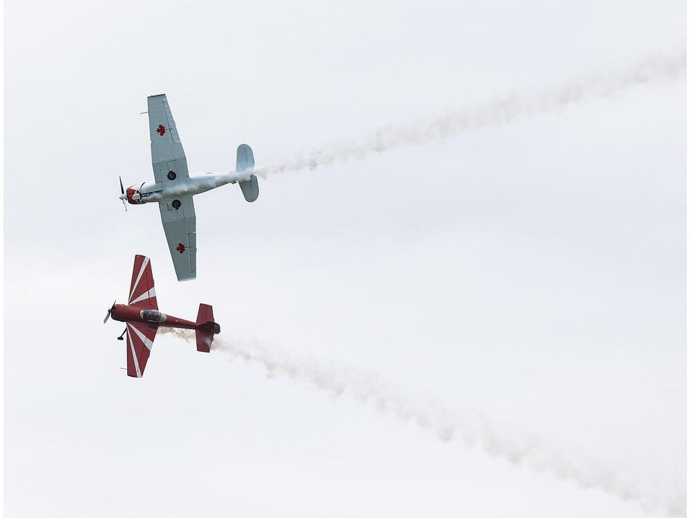 Photos: Edmonton Airshow at Villeneuve Airport