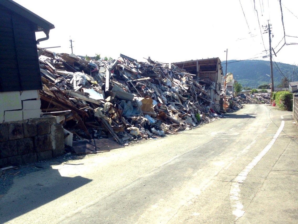 益城町。震災からもうすぐ4カ月。 https://t.co/dBl5QCVV9R