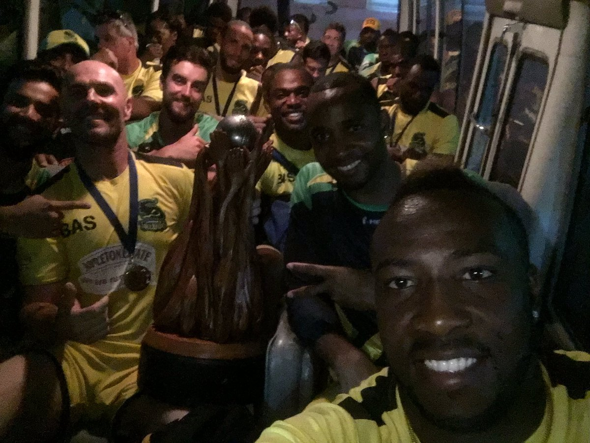 What a team !!!!!! @JAMTallawahs @CPL CHAMPIONS.... #missionaccomplished #Boom #Itsgonnahurtinthemorning