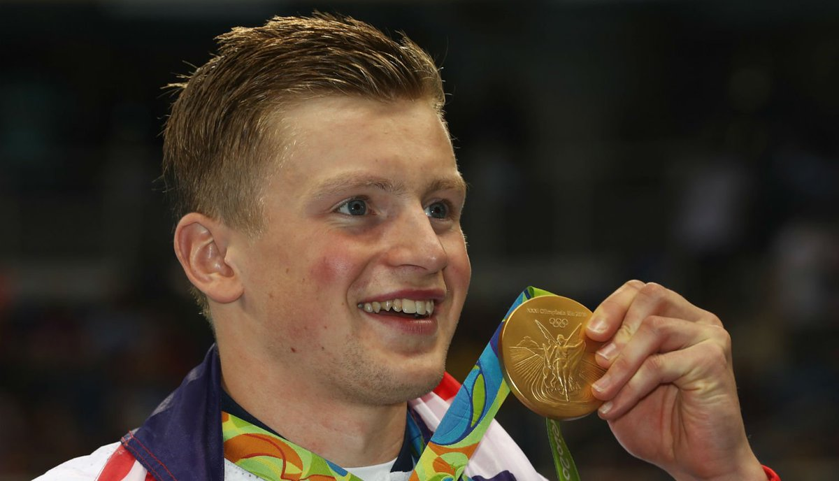 Adam Peaty's nan is the real star of the Olympics