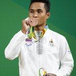 Thai medalist's grandmother dies celebrating win