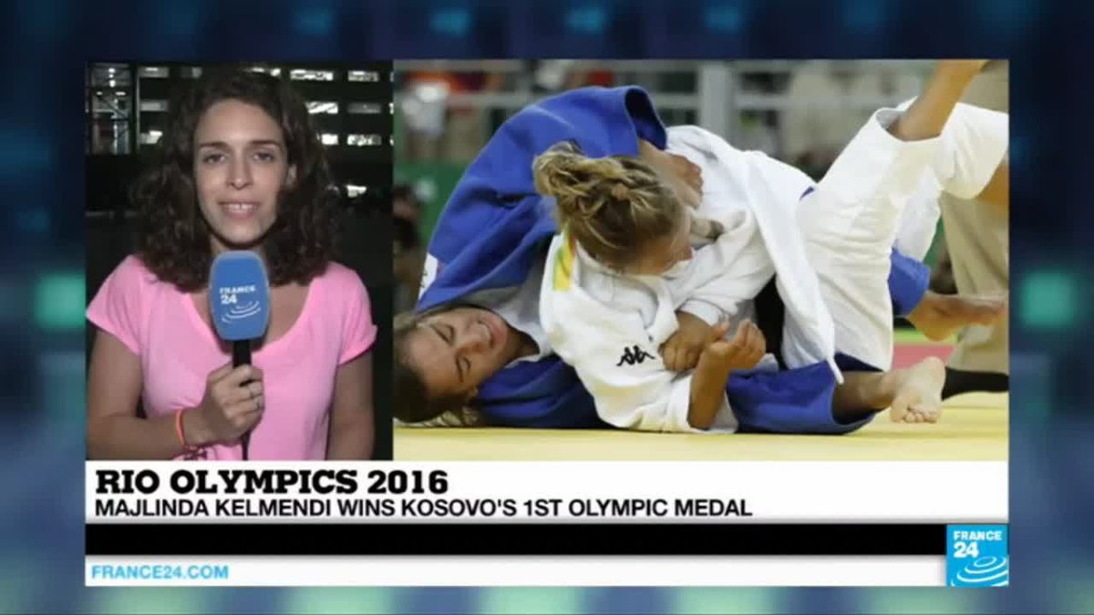 VIDEO -  Rio 2016: Majlinda Kelmendi creates history, winning Kosovo's 1st olympic medal