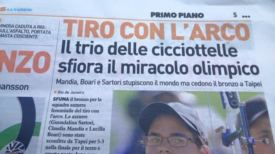 Il giornale che ha pubblicato questo titolo è @qn_lanazione . Contattatelo. Grazie. #lanazionechiedascusa https://t.co/PoEdCoGJGD