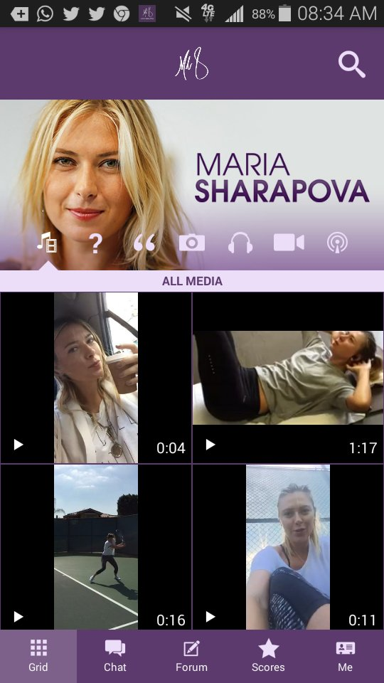 RT @aleHimmel: Maria just posted a new video on her App. https://t.co/YX1tsaZrnQ @MariaSharapova Good Morning people https://t.co/pqhZ1BzbVs