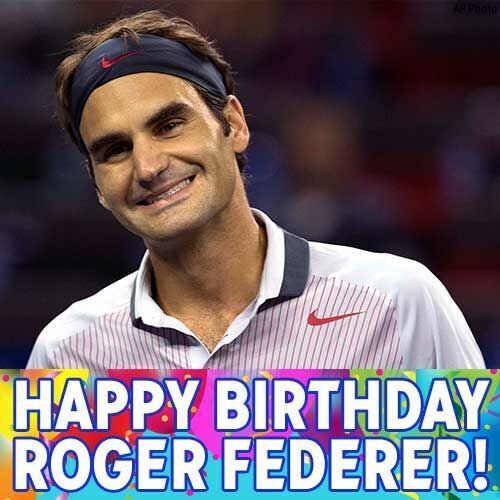 CpVpIjFWIAARdGu happy 35th birthday, @rogerfederer! wishing you a grand slam of a