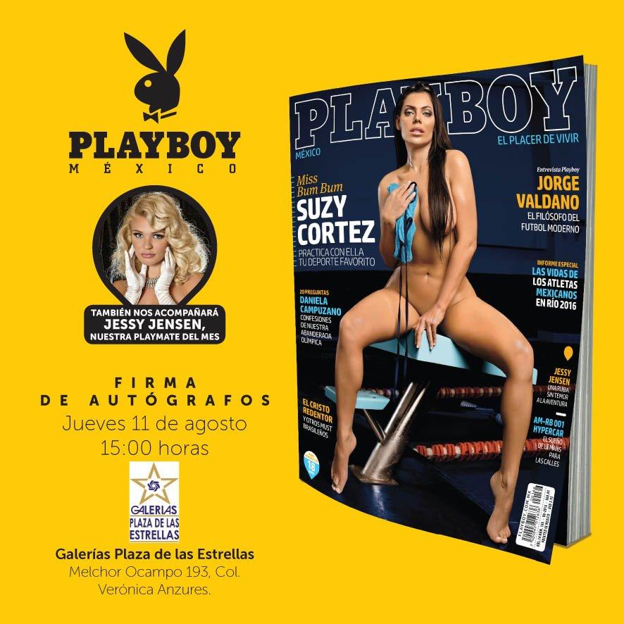 RT @PlayboyMX: #FelizLunes Firma de Autógrafos con nuestras hermosas conejitas @SuCortezOficial y @jessyjensen en @luminariass https://t.co…