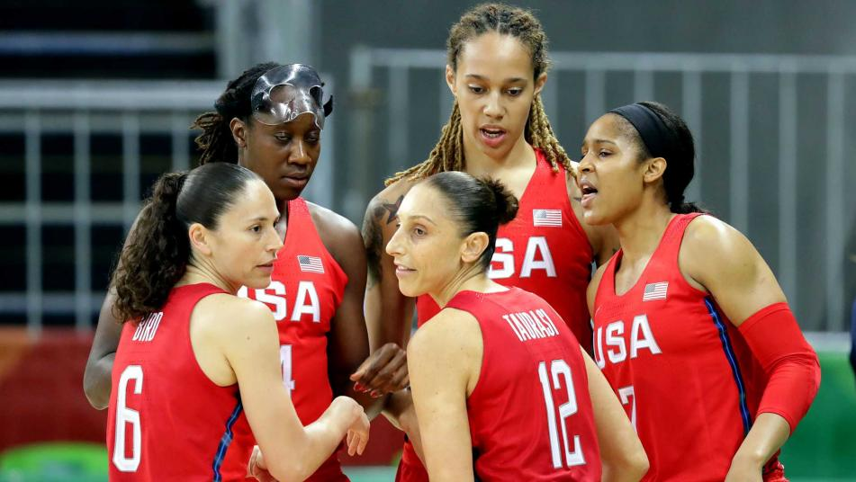 U.S. women's basketball team remains undefeated in Rio2016 via @NBCOlympics