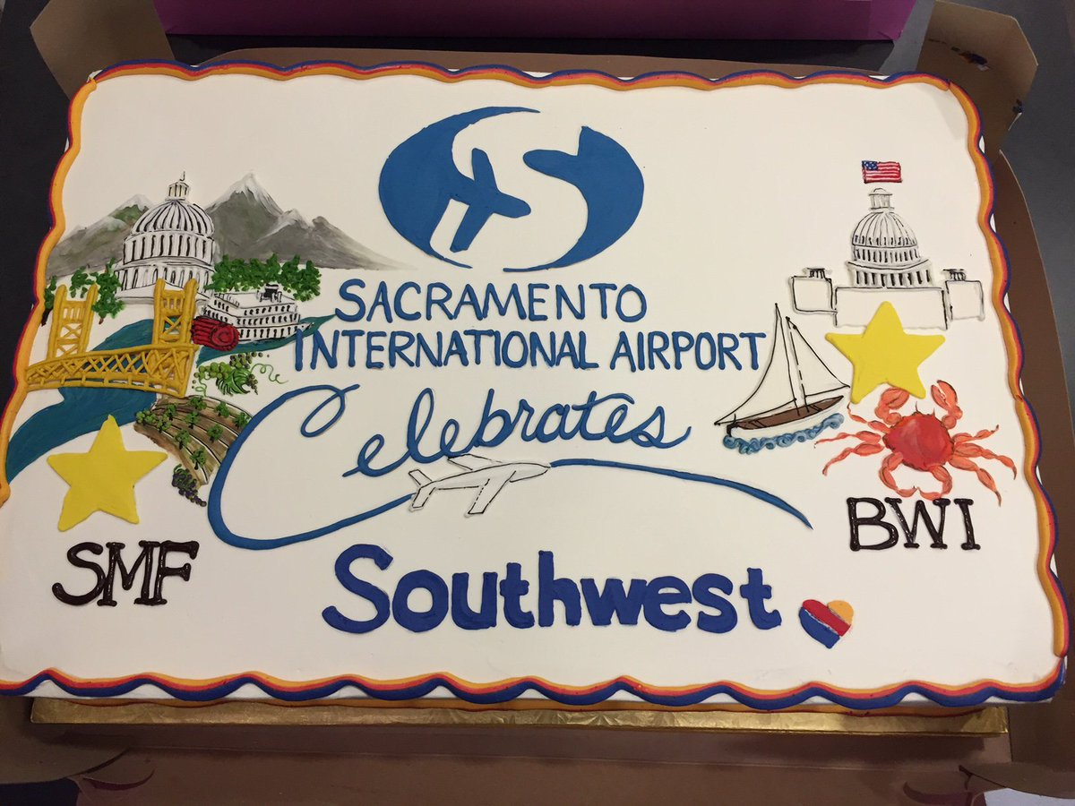 Celebrating NEW daily service between SMF and BWI offering easy access to DC! Book now