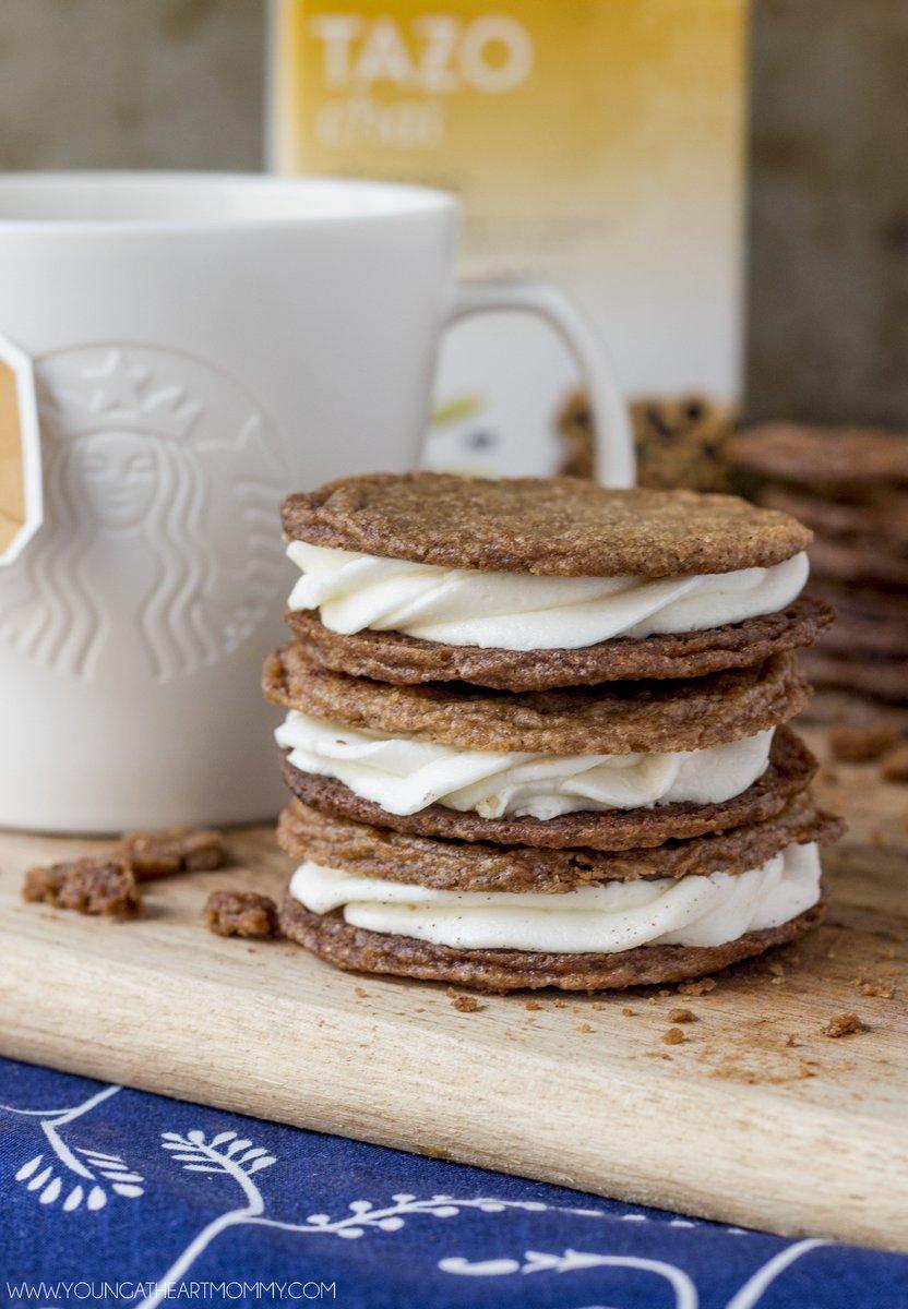 Cinnamon Spice Cookie Cream Sandwiches https://t.co/gWhrks54q2 #StarbucksBlogger #ad https://t.co/2N8BTZP96O