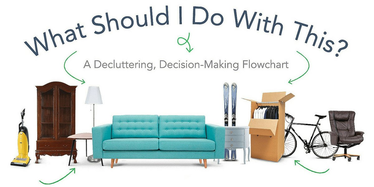 They don't want you to #declutter. So we made a decluttering flowchart: https://t.co/vkz0Lf8yHA https://t.co/B7rFVg2i5f