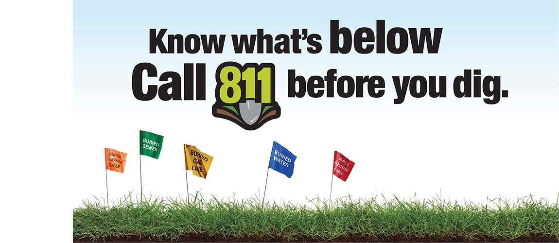 Don't make a judgment call, make a phone call. #Call811 before digging projects big & small. https://t.co/pAtfoYDS8y https://t.co/MMB0gKi5fW