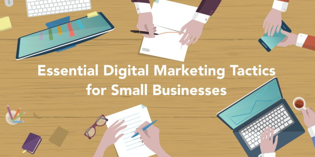 The Essential List of 31 Digital Marketing Tactics for Small Businesses - AppInstitute https://t.co/qc26l7CUfW https://t.co/MxvNBqsAXf