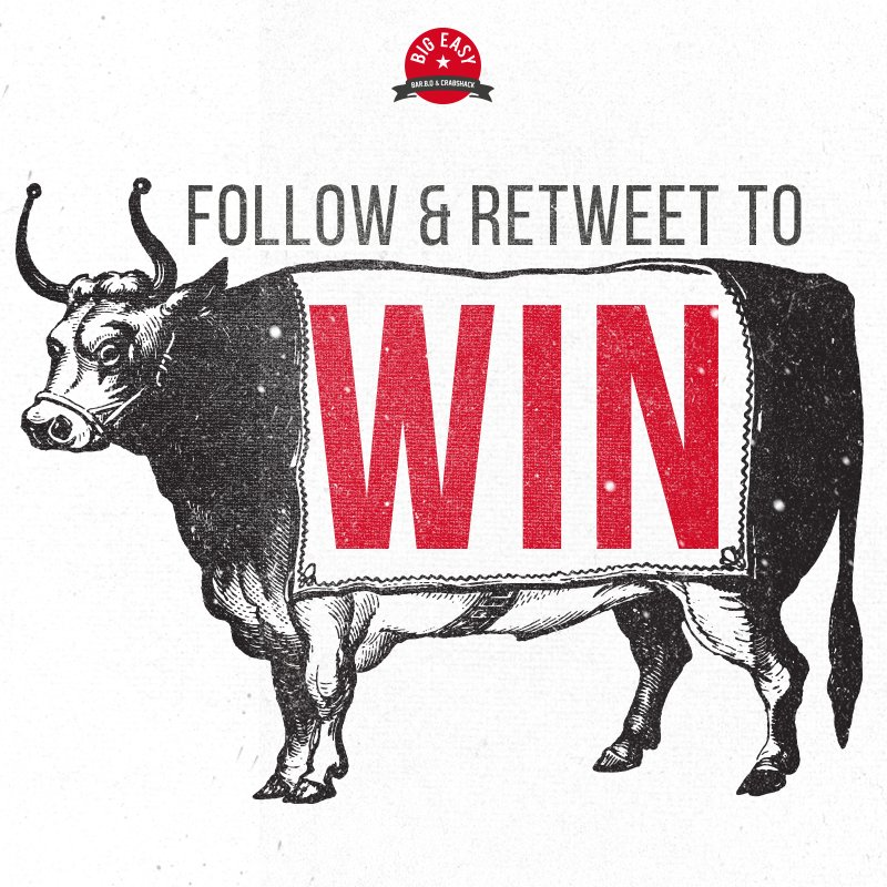 We're giving away a meal for two at #BigEasyCoventGarden, just follow and RT for your chance to #WIN! https://t.co/aGImB2TyV4