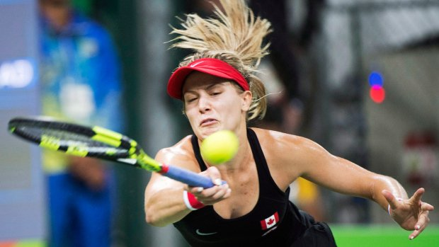 Eugenie Bouchard loses in straight sets at Rio Olympics