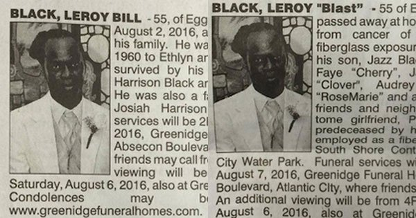 A Man's 'Loving Wife' and 'Longtime Girlfriend' Just Placed Dueling Newspaper Obituaries  https://t.co/L8a55EmIvL https://t.co/HUeE02tl7w