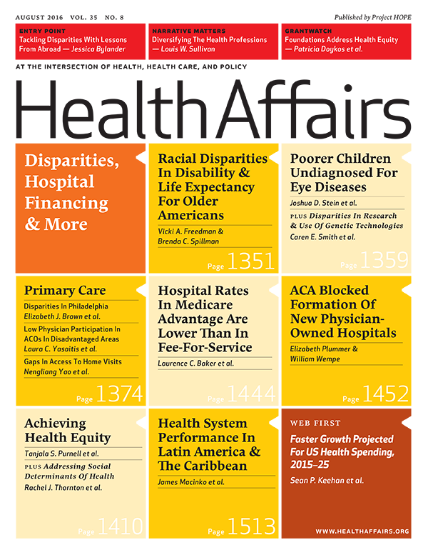Our latest issue looks at #disparities as it relates to #healthpolicy & care. Check it out! https://t.co/OOUMnPLD1W https://t.co/Ft6o0hr6Tk