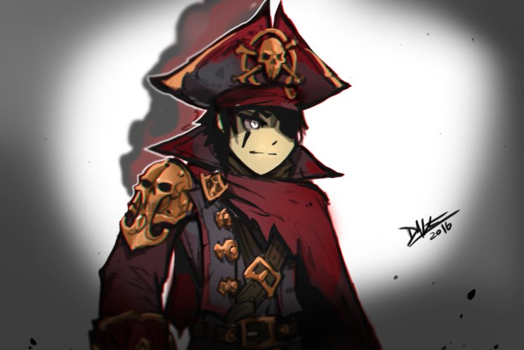 Cursed Naval Commander, possible concept..... possible https://t.co/LSlvMqS79G