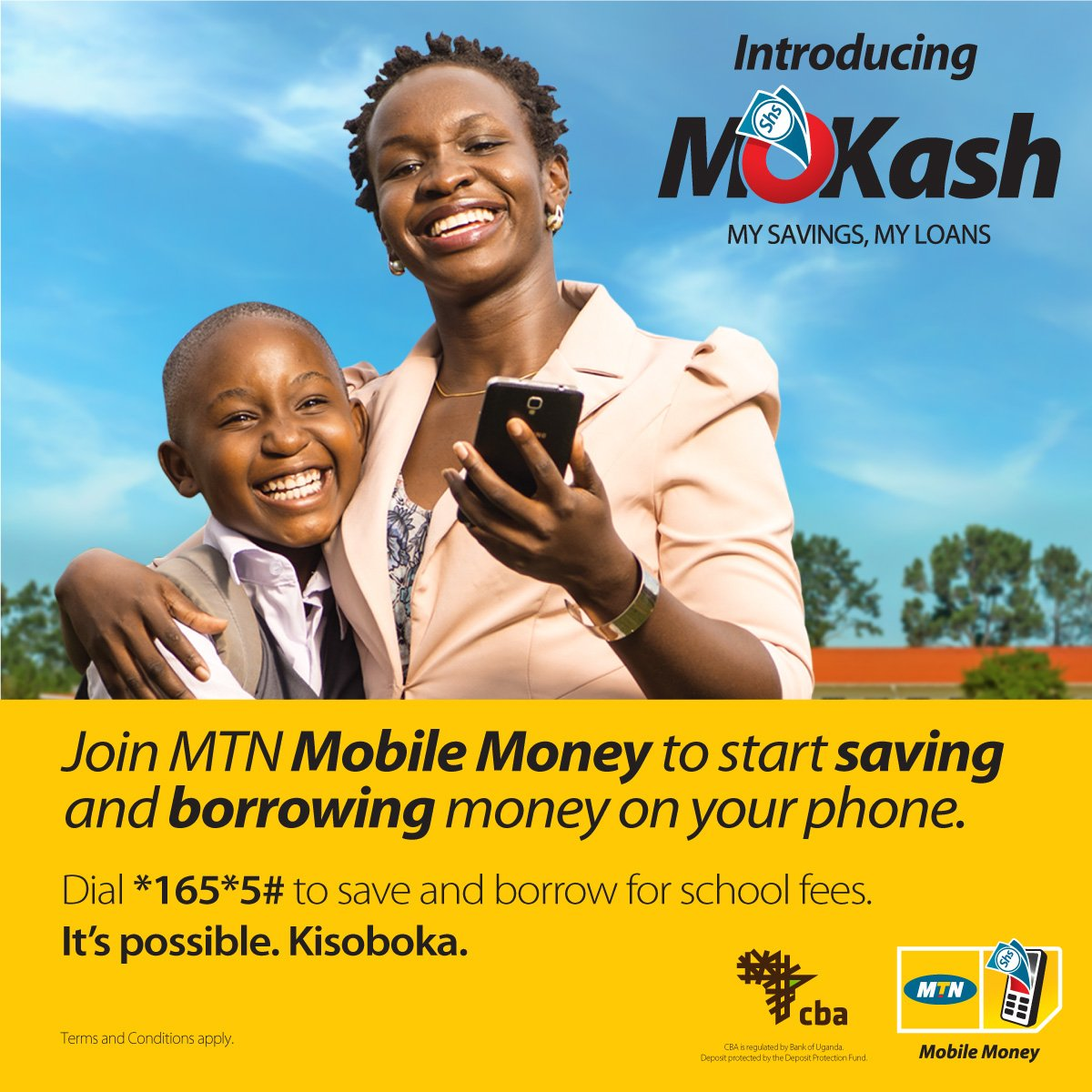 BREAKING: @mtnug has today launched #MoKash - a micro loans and savings product. https://t.co/WWVjUq3HEa #MTNMoKash https://t.co/0rGl3edbtf