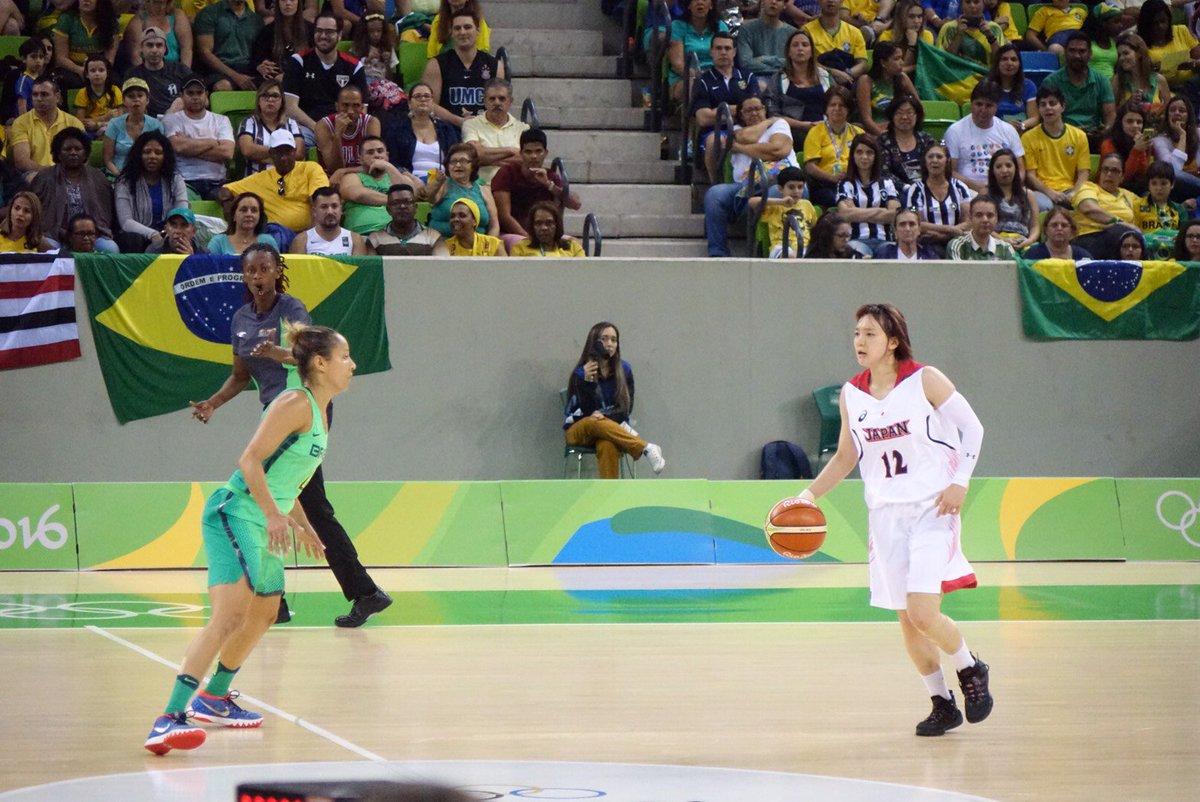 代表:【結果速報】#Rio2016 #basketball 女子予選A・第2戦  ■試合終了 #JPN ○ 82-66 ● #BRA https://t.co/PNrqyH29Oo  #AkatsukiFive 全員出場で2連勝! https://t.co/JysmZoMvQR