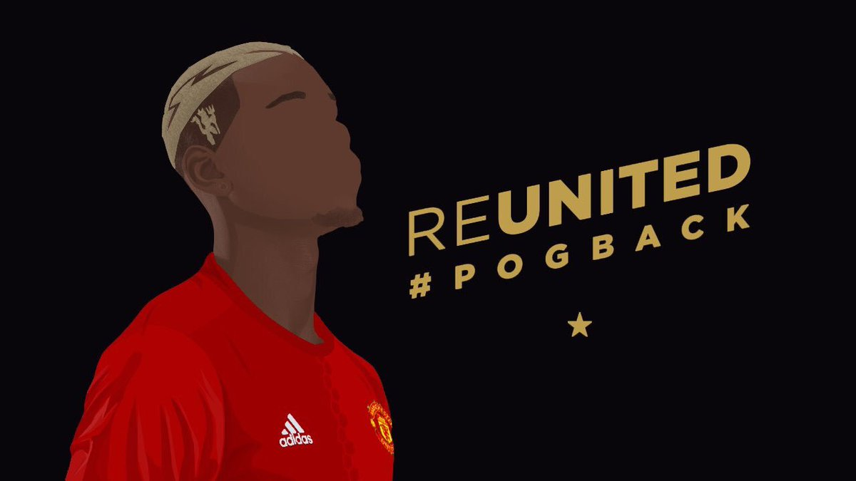 He's one of our own He's one of our own That man Paul Pogba He's just been on loan  @paulpogba  @ManUtd  #Pogback https://t.co/474hCgZHXh