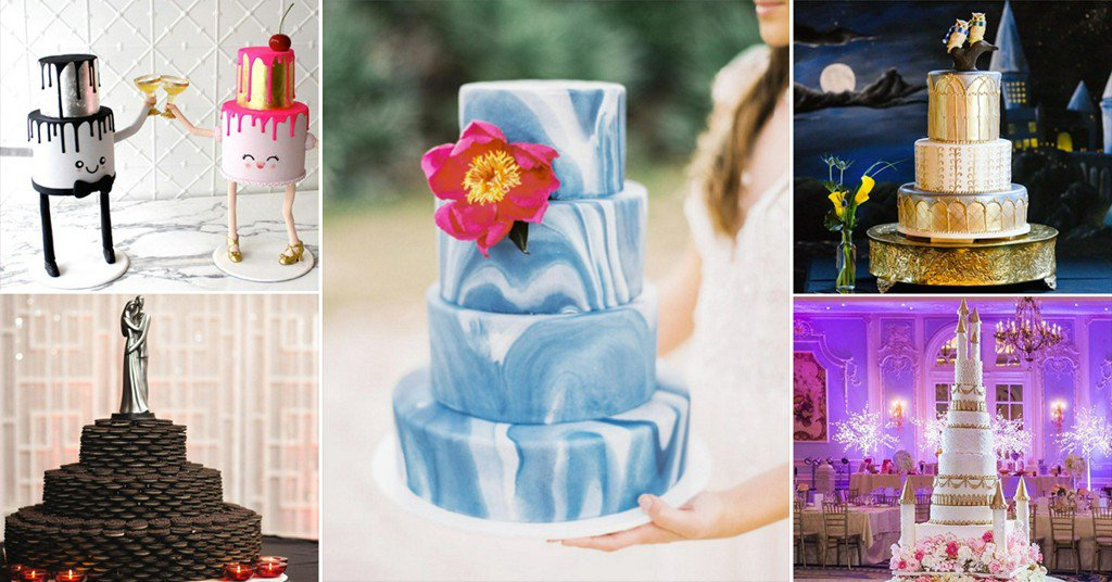 Here Are 16 Of The Coolest Craziest And Most Beautiful Wedding Cakes Weve