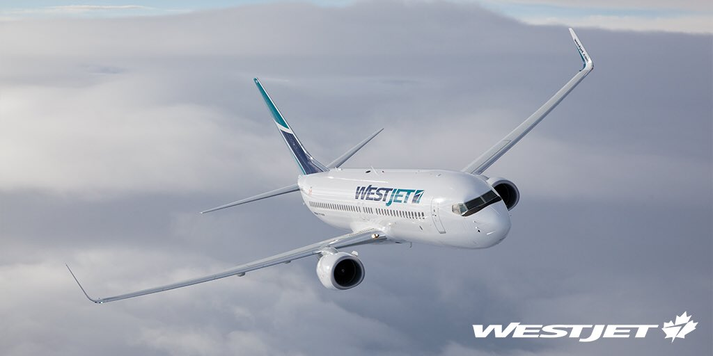 Silver skies ahead and behind. Enter our TeamWestJet ✈️ contest for a chance to win - 🇨🇦