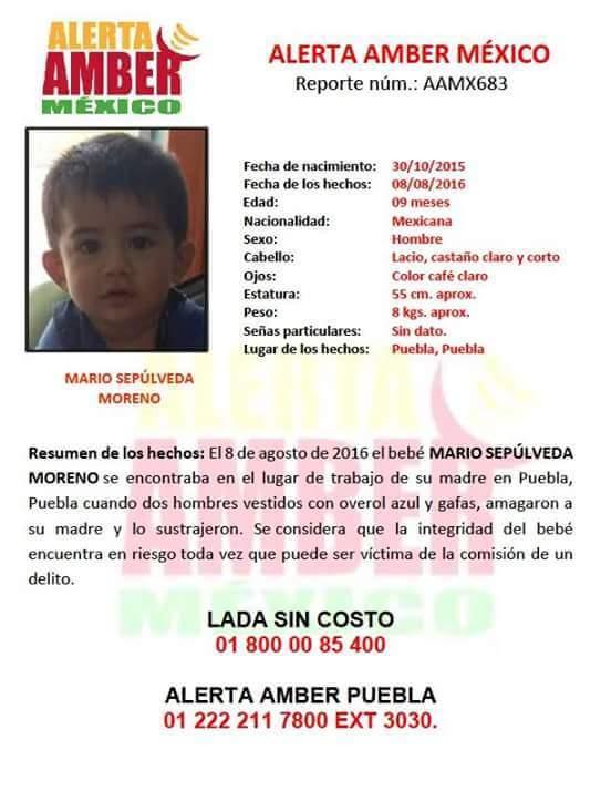 """""""@SANDRALUZCAST: Asaltantes roban a bebé de nueve meses en Puebla URGENTE RT necesitamos difusión masiva https://t.co/v0TwrUWGLL"""