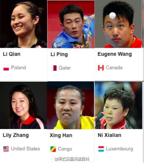 #Olympics Pingpong players from  different nations around the world come together to speak Chinese with each other. https://t.co/gqeKQN37Jm