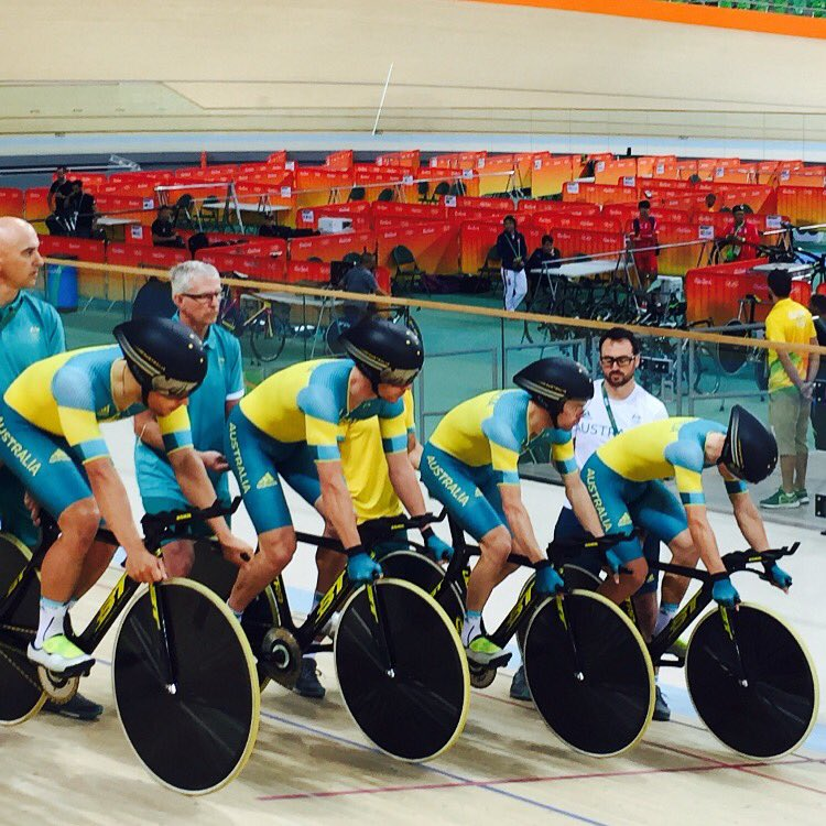 Only a few days before the track racing starts here in rio! @AUSOlympicTeam https://t.co/T021DbsXpF