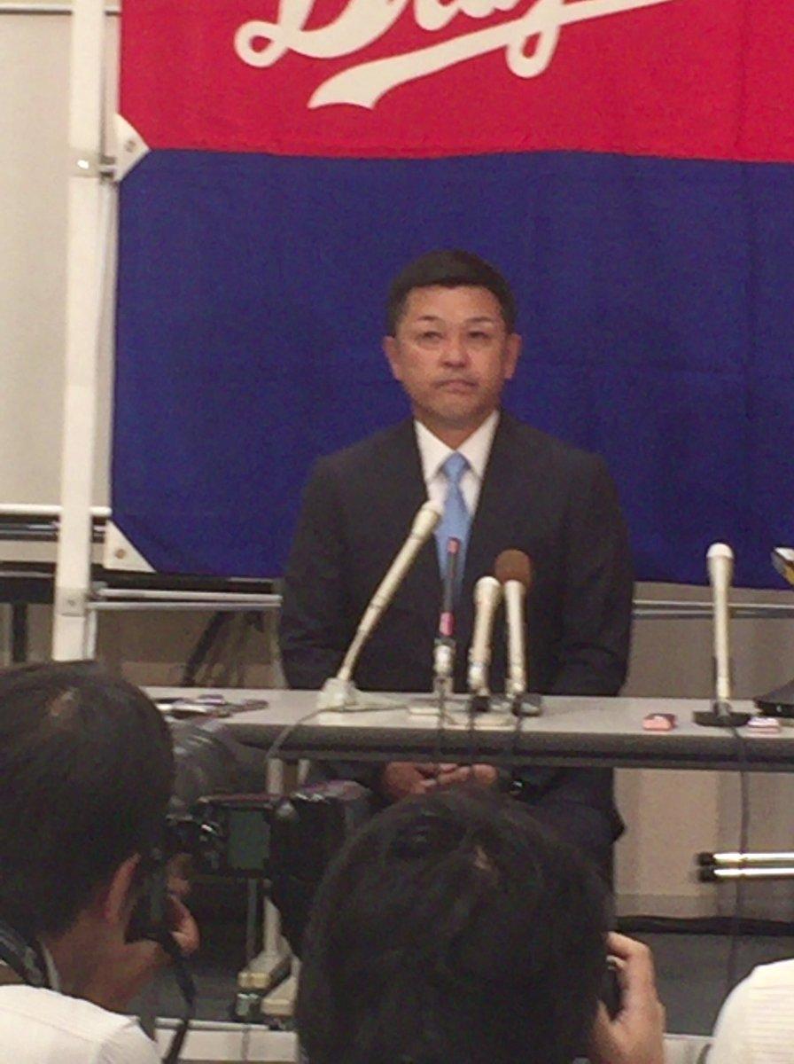 たったいま、中日・佐々木社長から谷繁監督、佐伯コーチ休養の発表がありました。 https://t.co/aQr0Ipo6fT