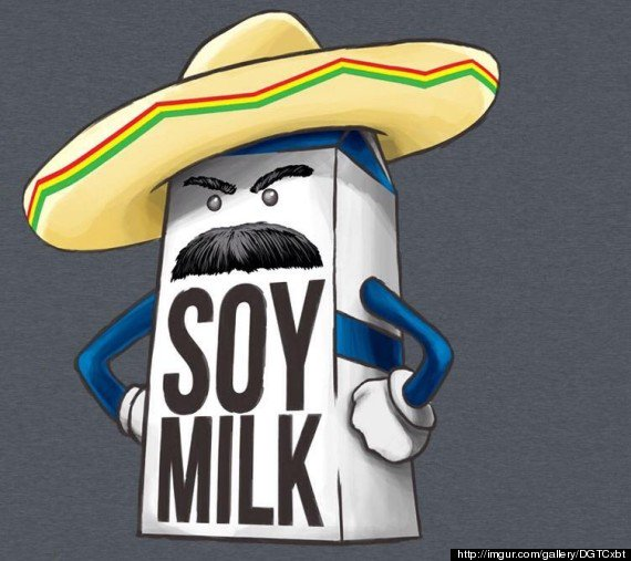 """What if soy milk is just regular milk introducing itself in Spanish?"" #NationalTellAJokeDay #foodimentary https://t.co/F4GUuN7Riq"
