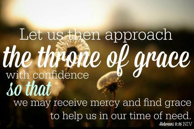 Let us therefore come boldly to the throne of grace, that we may obtain mercy and find grace. Hebrews 4:16 https://t.co/V7Bd8uRRrs