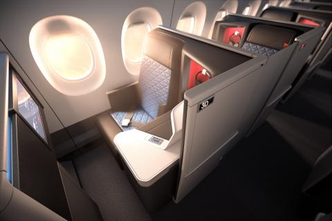 .@Delta introduces world's first all-suite business class with Delta One suite.