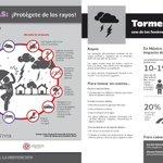 #PrevenirEstaEnTI #ColonosQro Protégete de los rayos... @poesqro @PCCorregidora1 @mpio_El_Marques @SSPMQueretaro https://t.co/f72MmVulGw