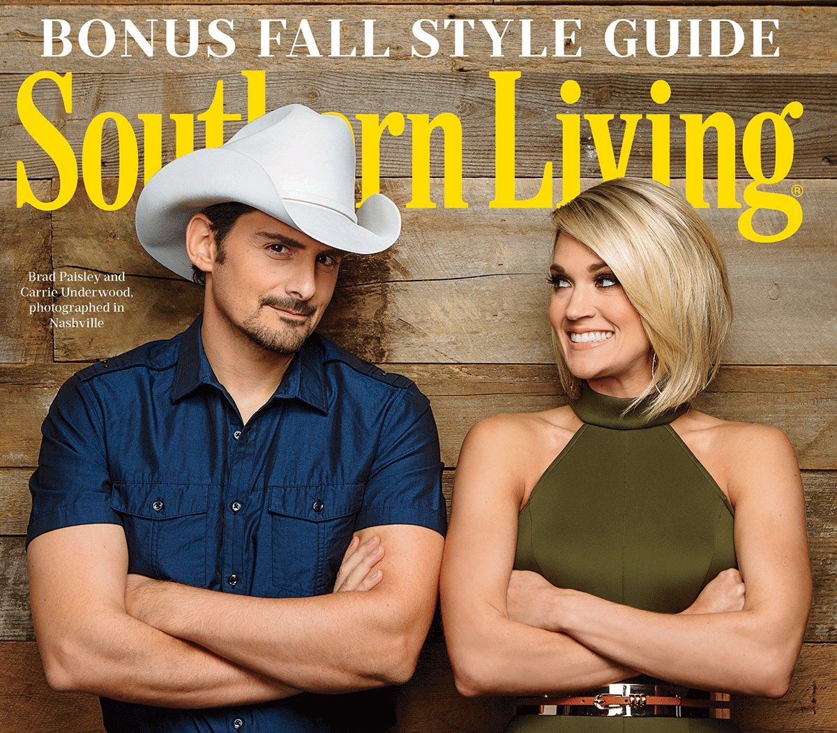 Introducing our September cover stars: @bradpaisley and @carrieunderwood! https://t.co/HT853gS86I https://t.co/IWPE2i0HTs