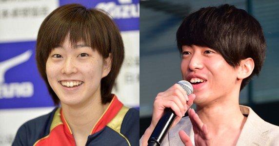 石川佳純選手とDJ 松永 (Creepy Nuts)が似てることに気が付いてしまった。 #オリンピック #リオ2016 #卓球 #DMCJAPAN https://t.co/5ig7jbs2fo