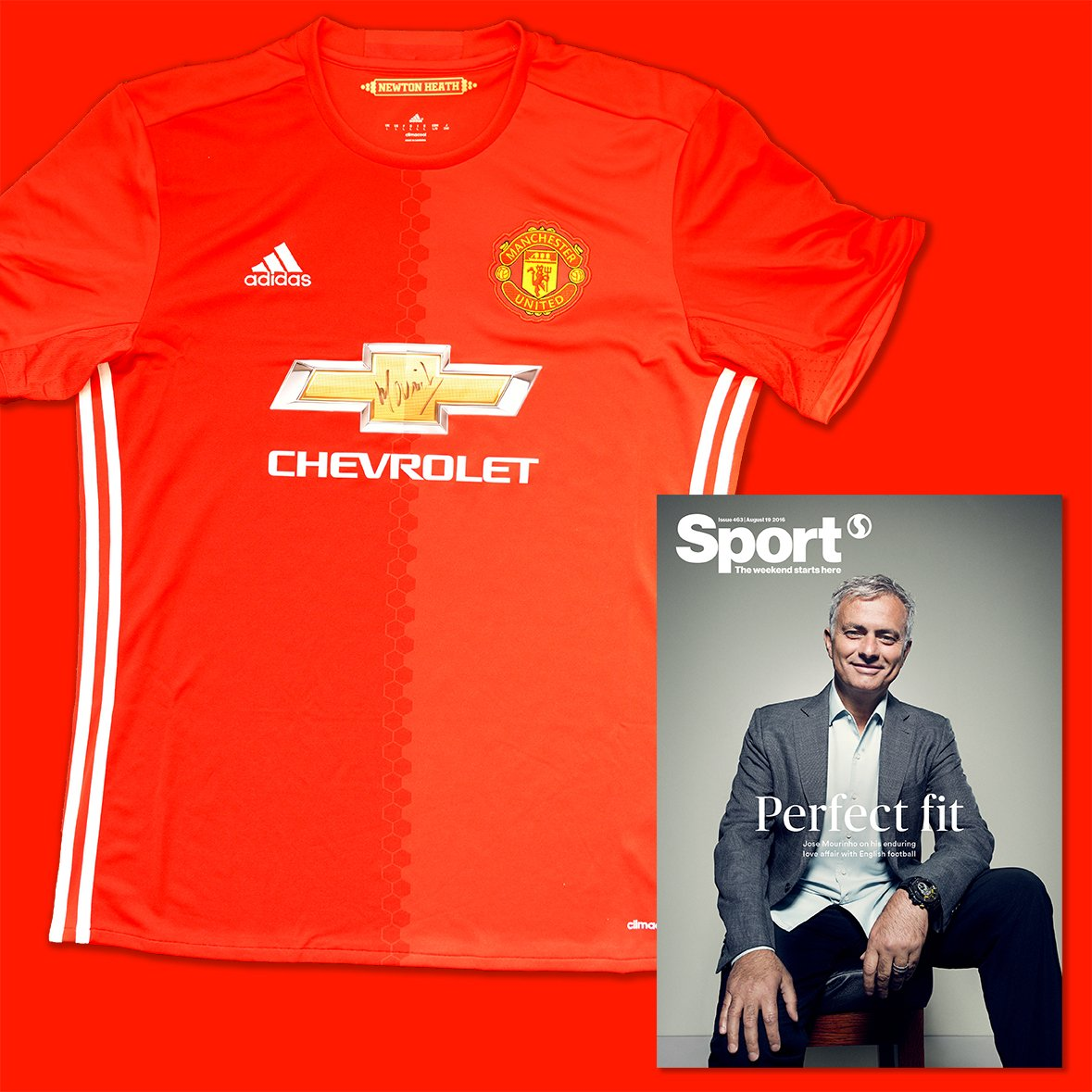 Competition | To mark this week's issue, FOLLOW and RT to WIN a @ManUtd shirt signed by manager Jose Mourinho. https://t.co/kWR7i9I1gA