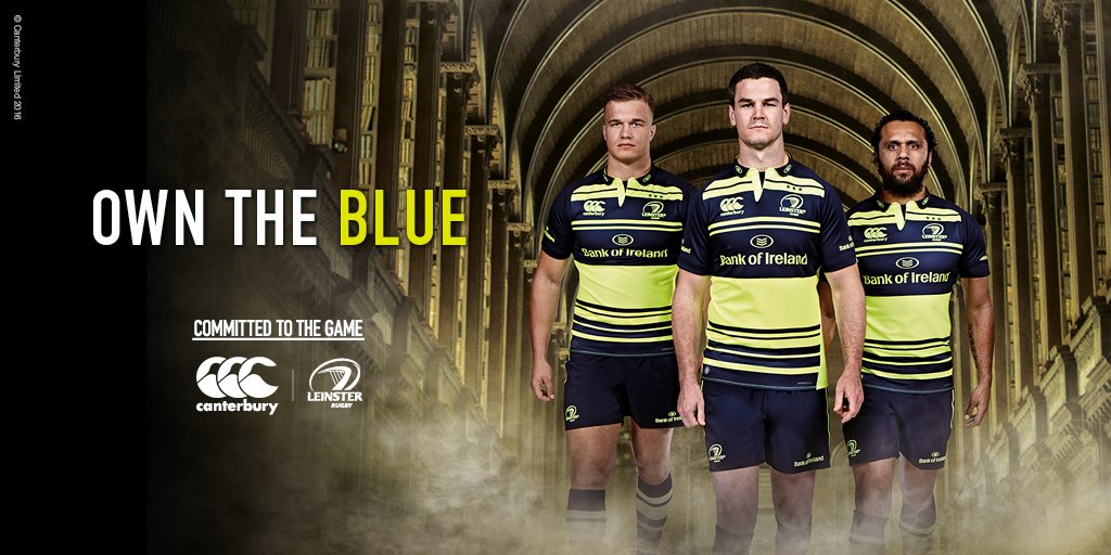 Introducing the new @leinsterrugby Alternate Jersey. Pre-order it now; https://t.co/armK1ug4m4 #CommittedToTheGame https://t.co/SirgXaFskI