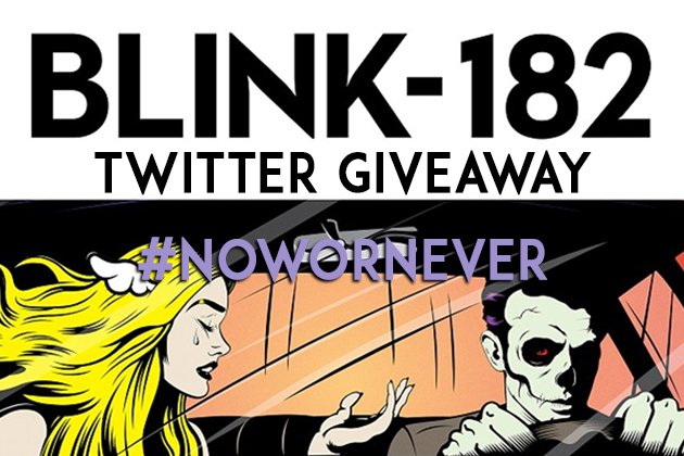Retweet this tweet to enter for a chance to win @blink182 tix and sound check invite https://t.co/DeuOEtCsNM