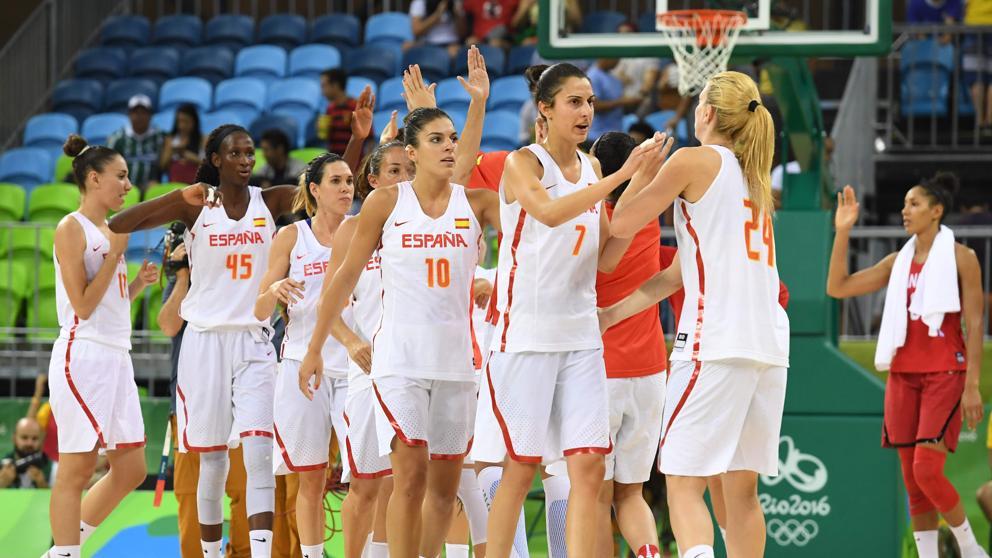 Baloncesto fem: cuartos de final #españa vs #turquía, jjoo de ...