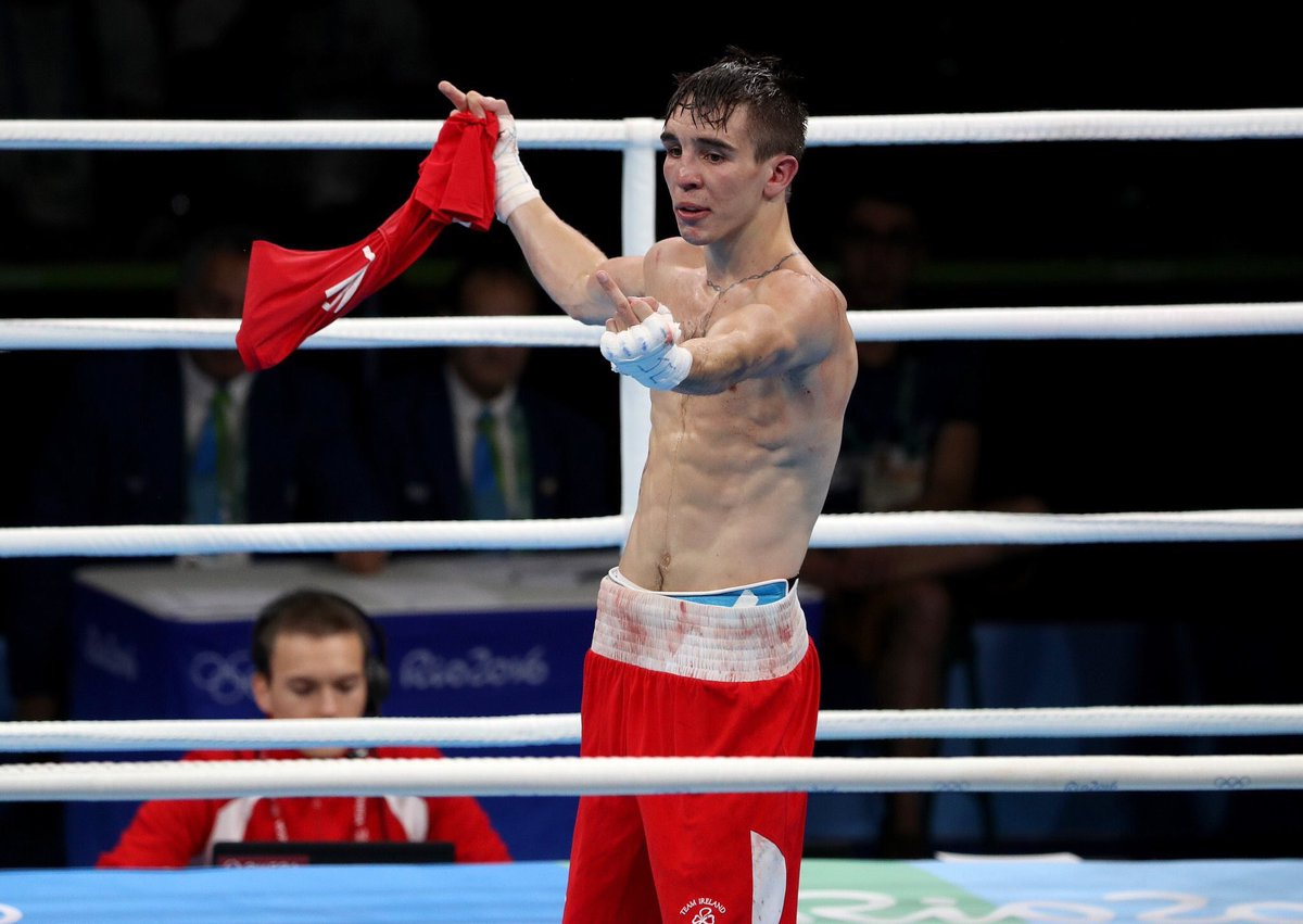 Gutted to hear about the  @mickconlan11 result. Genuine gold medal hope & had his dream shattered by bad scoring