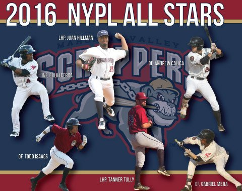 Congrats to our 6.. YES 6! 2016 NYPL All Stars! RT to win a signed ball by our 2016 All Stars! #baseballwithbite https://t.co/Jj72qGbDZo