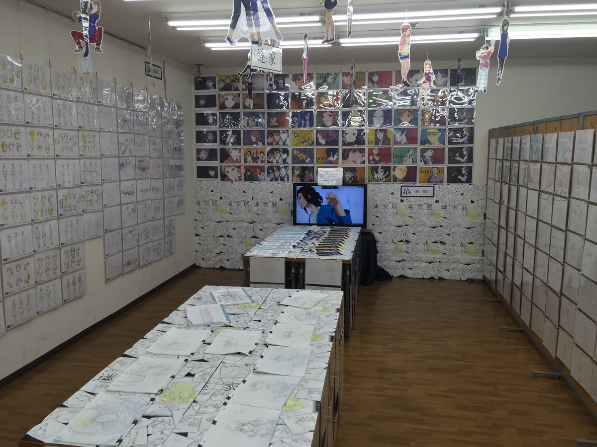 迷家展大阪会場の設営を行いました。8月13日から開催です。新商品もございますので、是非遊びに来て下さい。AZU上野#ma