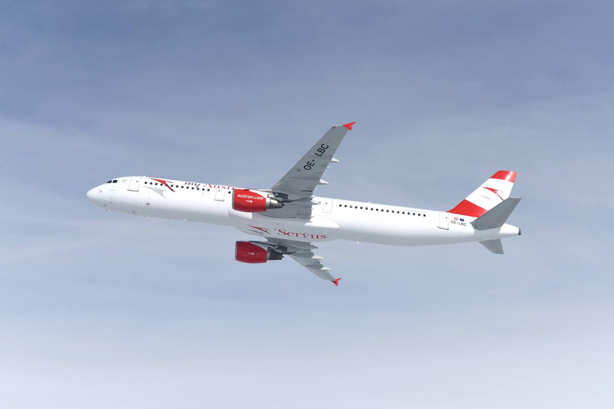 Traffic results for July 2016: Austrian Airlines Reports Increase in Passenger Volume: