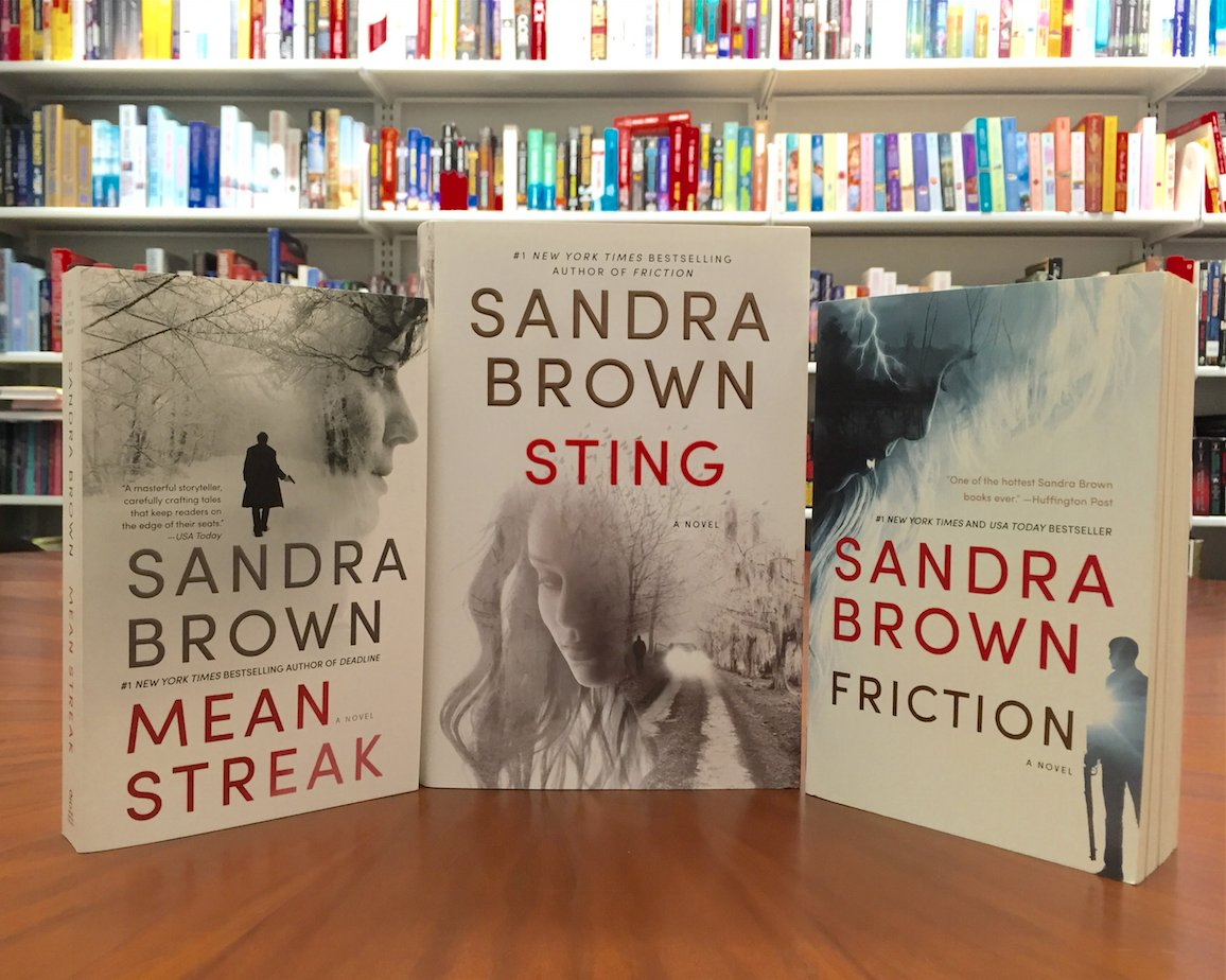 Retweet for a chance to win these suspenseful reads from @SandraBrown_NYT, including STING (available next Tuesday!) https://t.co/W9xv2KvoC1