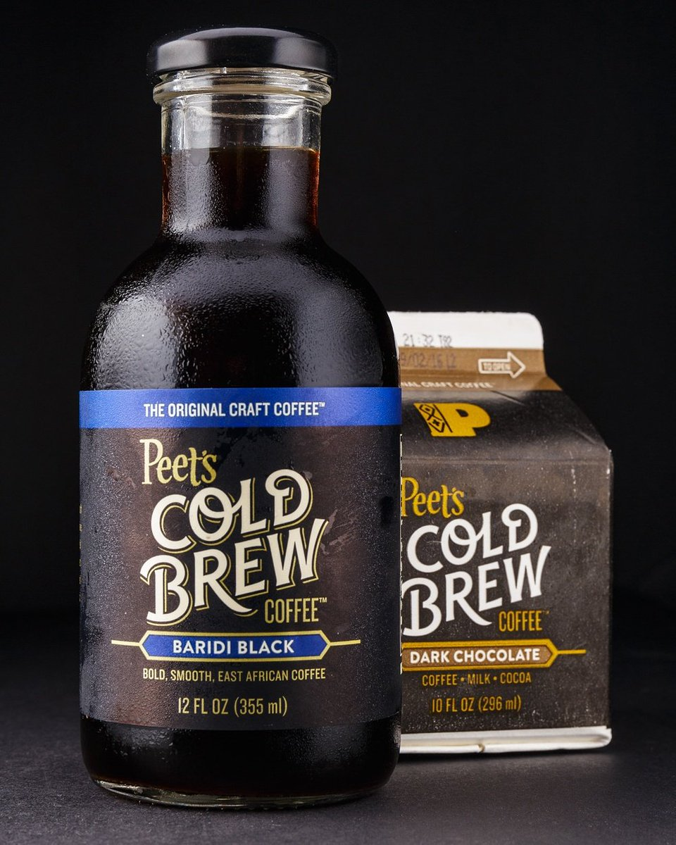 Premium coffee roaster and retailer @peetscoffee is the newest entrant in the ready-to-drink cold brew coffee wars. https://t.co/DqNb4M4NAt