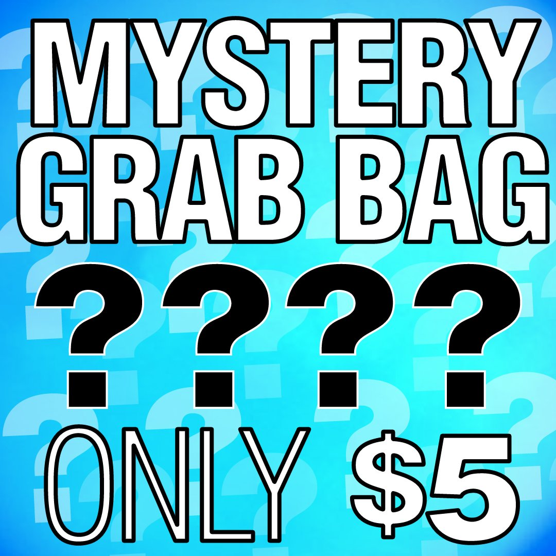 Mystery Grab Bags Now Available For Just 5 Mixture Of Posters Shirts Magazines