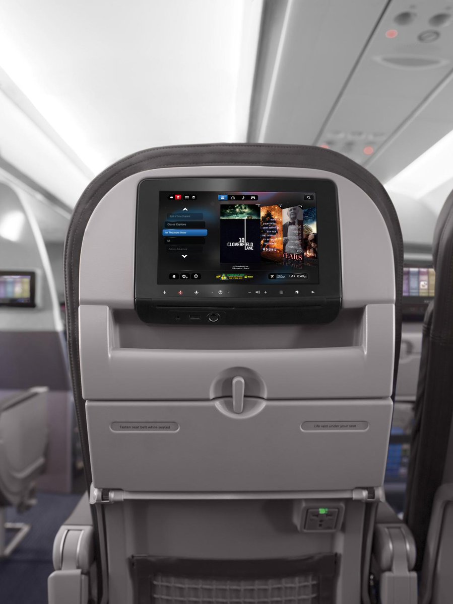 Everything but the popcorn. Now enjoy free premium entertainment in every cabin. More at: