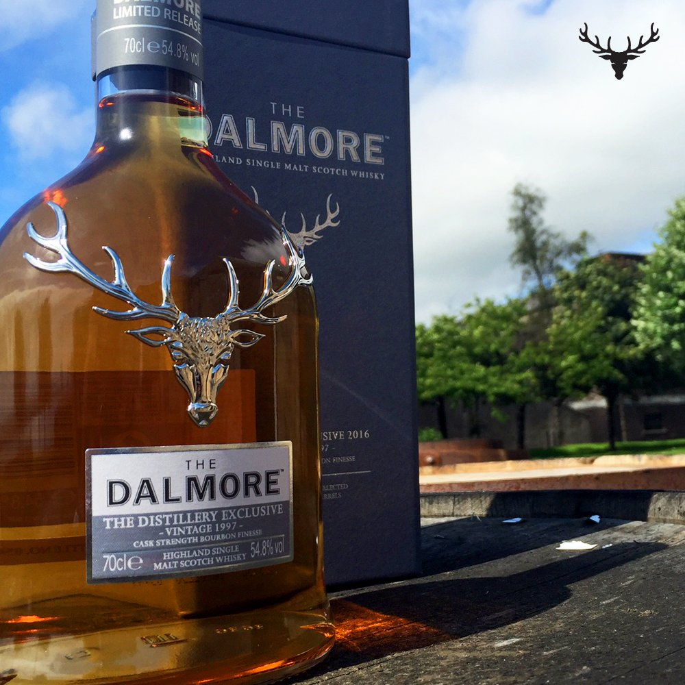 The Dalmore Distillery Exclusive Vintage 1997.  Now available at our iconic home in the Scottish Highlands. https://t.co/HzcYpxCoH6