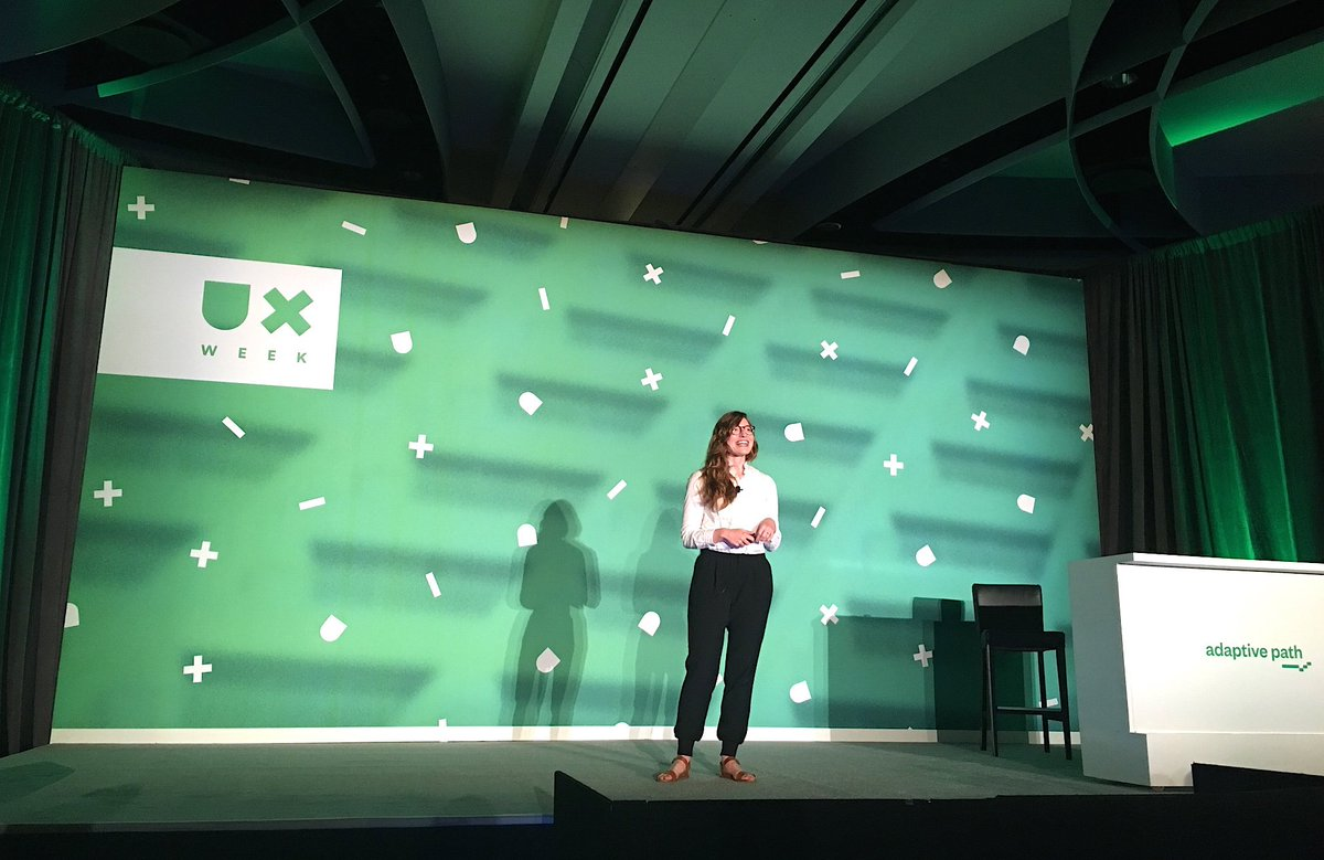 """""""Good ideas can be contained in easy-to-understand language"""" @emileighoutlaw #UXWeek16 https://t.co/K8mdgSJJJQ"""